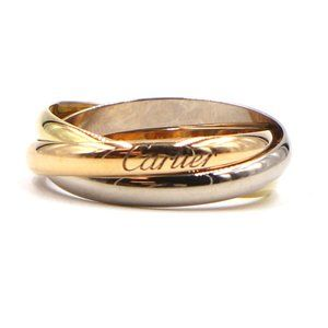 Tricolor 18k Trinity Gold Size 56 7.75 Ring